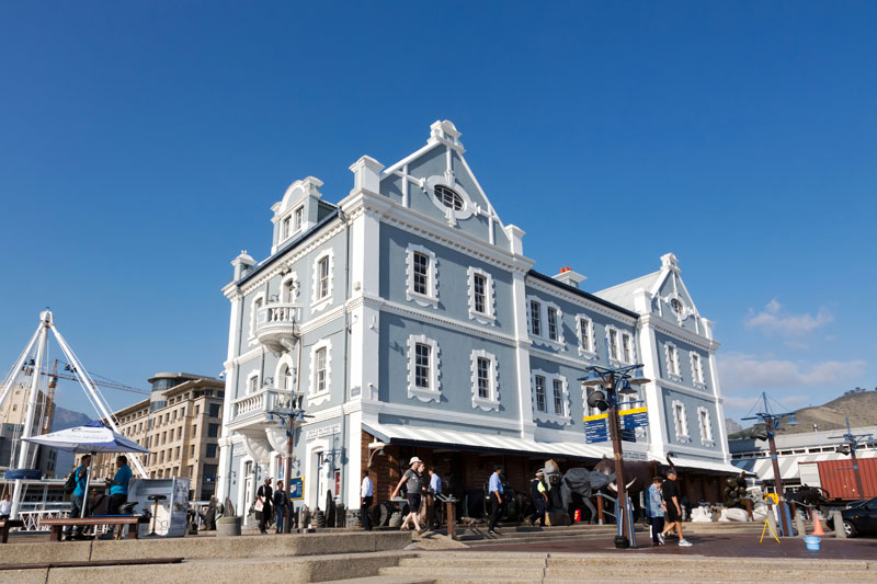 V&A Waterfront in Kaapstad, Zuid-Afrika