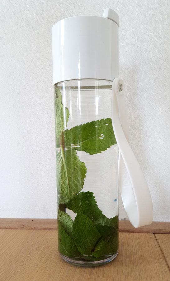 Reisaccessoires: Rosti Mepal waterfles JustWater
