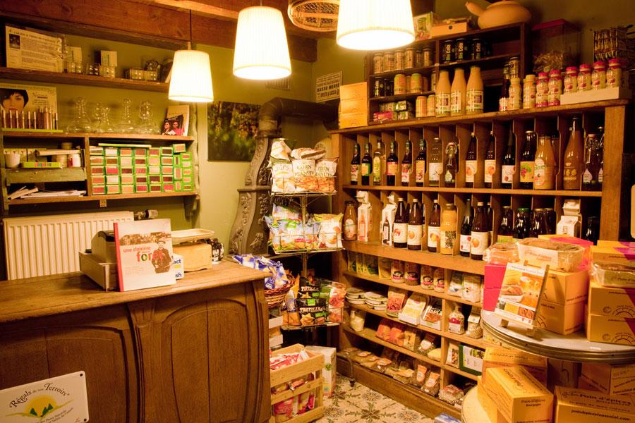 Rondreis Belgie, Gaume: gezond winkelen bij La Fee Verte.