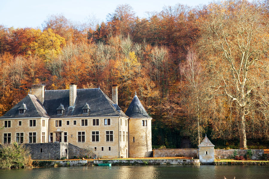 Rondreis Belgie, Gaume: Orval in herfstkleuren