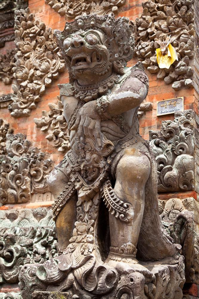 Een van de vele tempels op het eiland: Batubalan