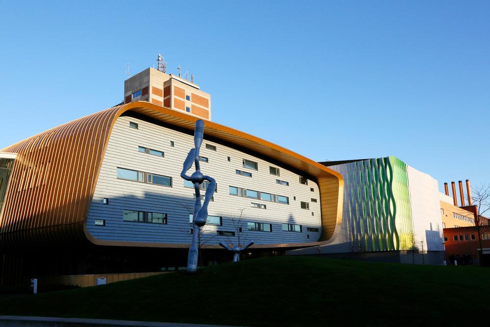 Stedentrip Groningen: trendy architectuur van de medische faculteit