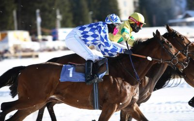 Arosa, luxe wintersport en paardenraces