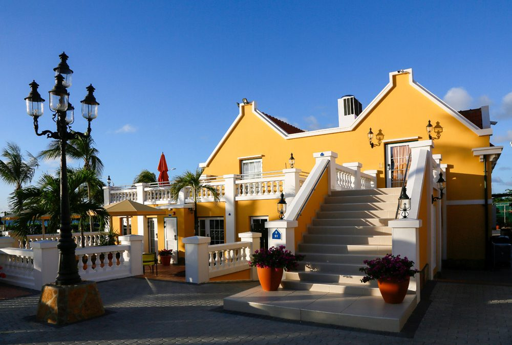 Amsterdam Manor, sfeervol hotel bij Eagle Beach