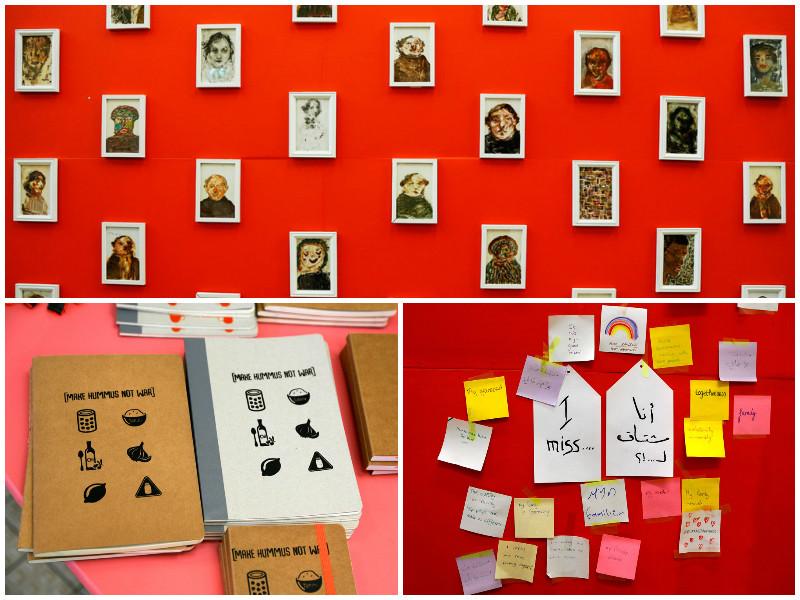 Lola Lik, ontmoetingsplaats voor vluchtelingen in Amsterdam-Zuidoost