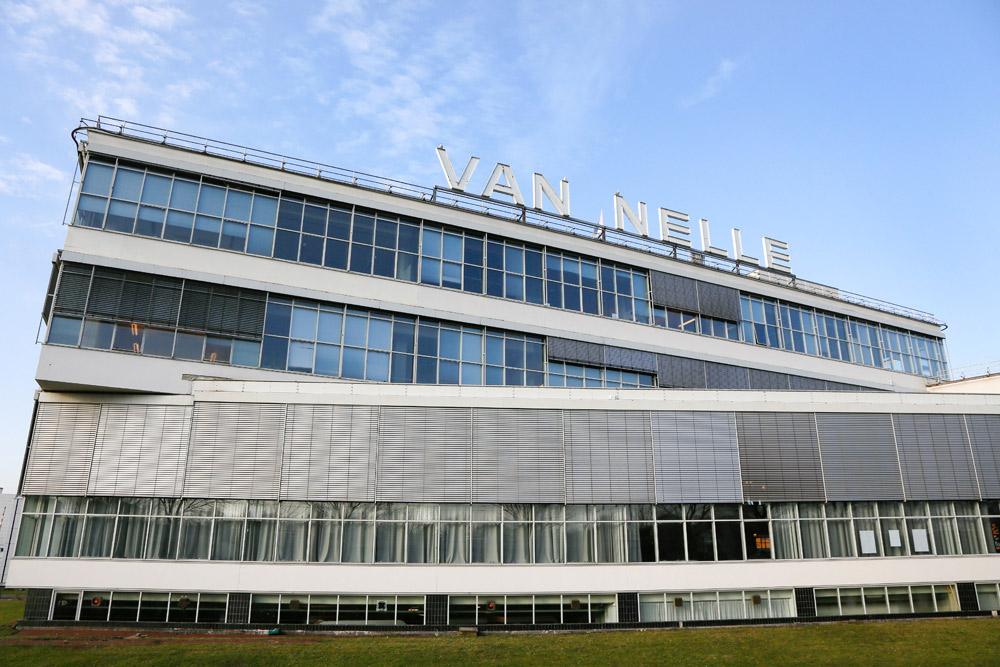 Rotterdam Van Nellefabriek fabriek Unesco Nieuwe Bouwen modernisme architectuur urbanguides Van Nelle Fabriek