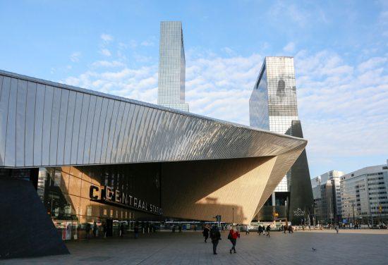 Rotterdam Centraal Station, met de prachtige architectuur