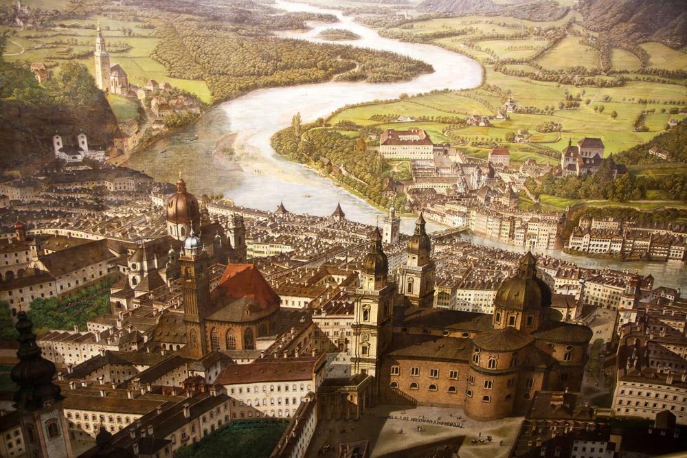 Citytrip: Het Panoramamuseum in Salzburg.