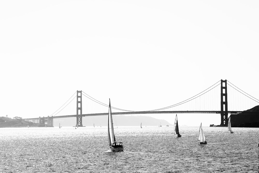 Het icoon van San Francisco: de Golden Gate Bridge