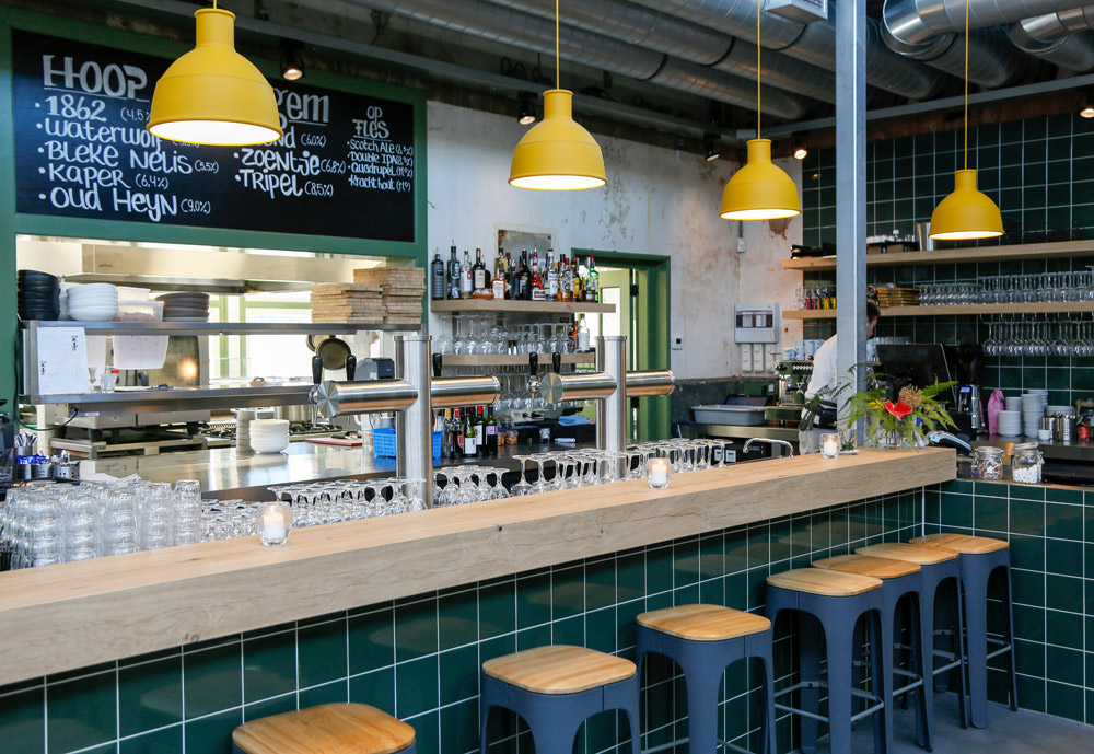 Restaurant Lab-44, nieuwe hotspot op het Hembrugterrein in Zaandam