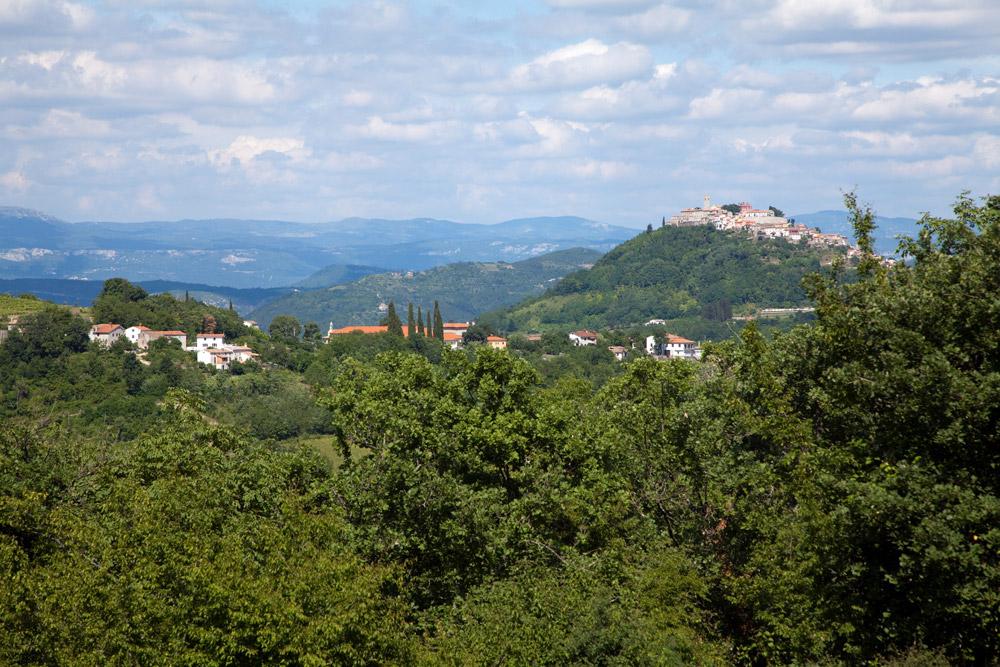 Agroturizam Tikel in het binnenland van IstrieKamperen in Istrie, Kroatie, go4holiday