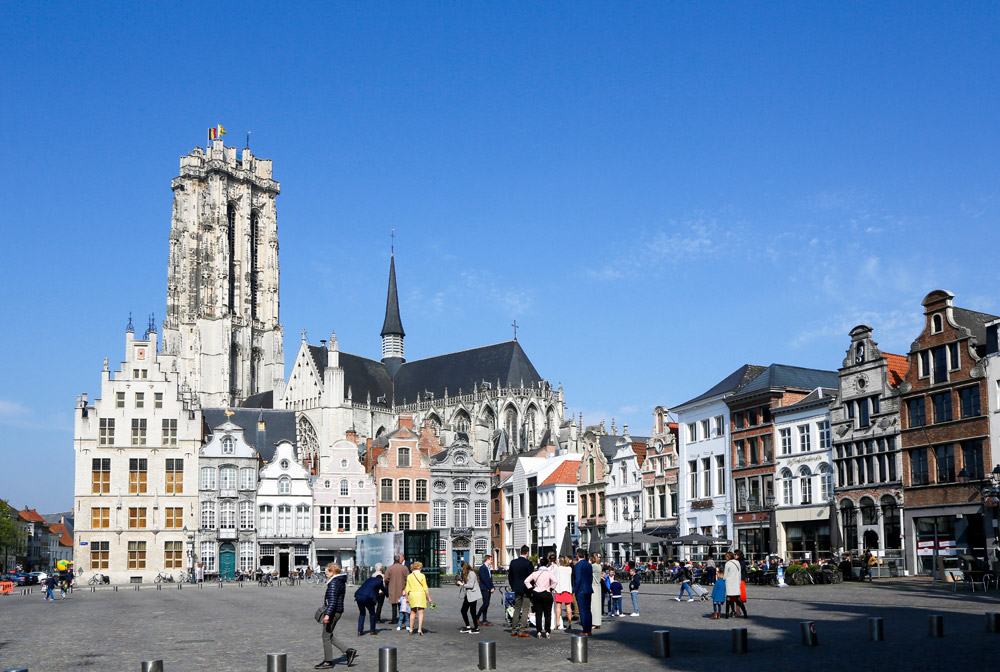 Stedentrip Mechelen, Belgie