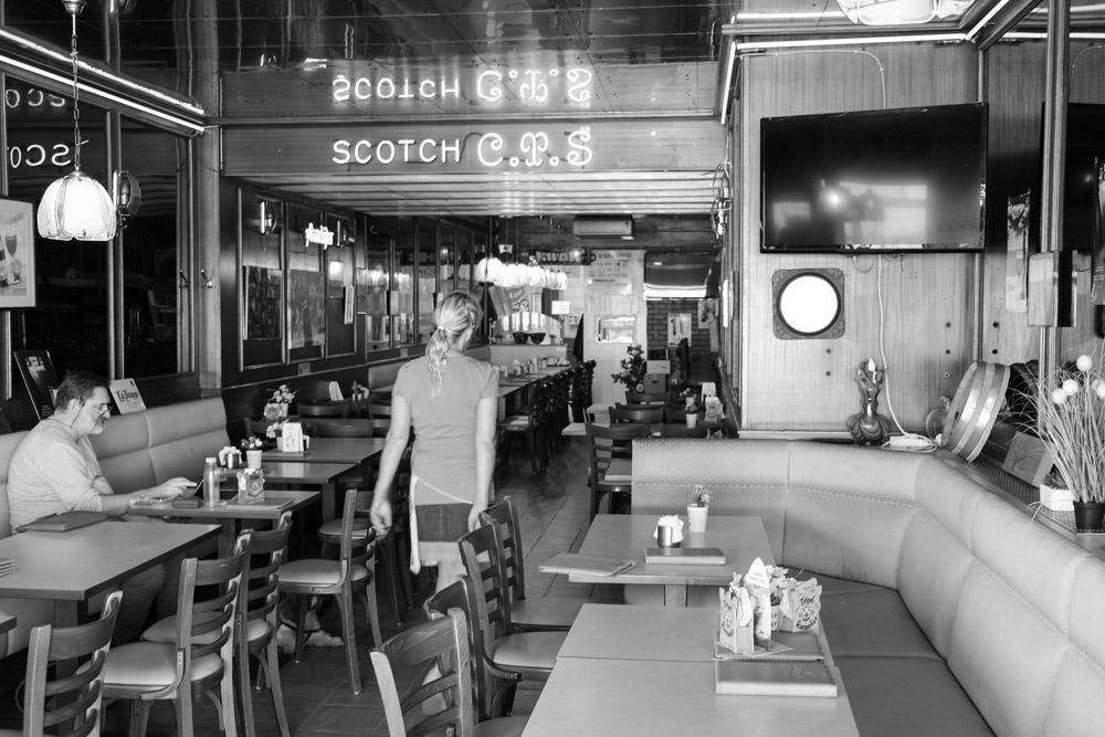 Cafe Floride, Een van de cafés waas Marvin Gaye geregeld kwam, Oostende