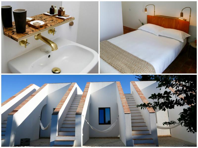 Minimalistisch ingerichte kamers bij hotel Casa Modesta, designhotel Algarve Portugal