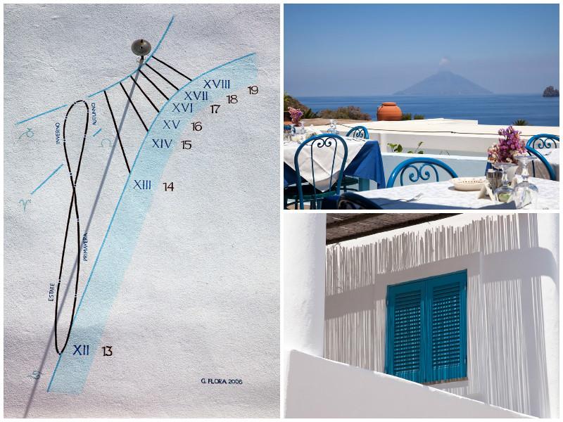 Mediterrane sferen op Panarea, Eolische eilanden, Lipari eilanden, Italie