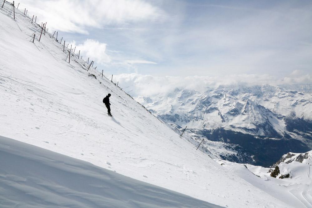 De rust op ruim 3000 meter hoogte, Zell am See - Kaprun, wintersport Oostenrijk