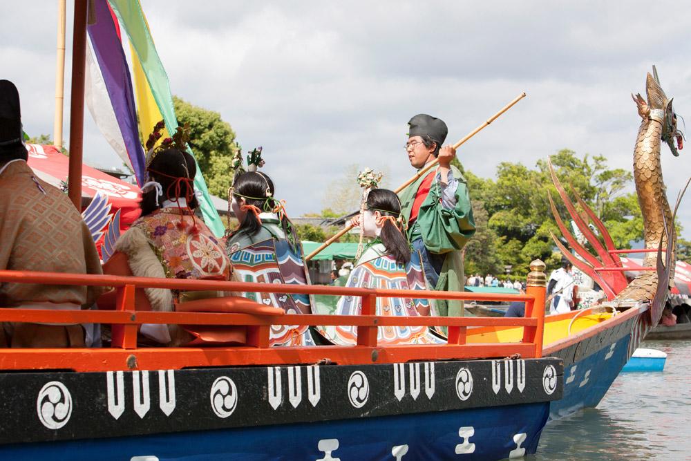 boot, Mufune Matsuri festival, stedentrip, rondreis, Kyoto, Japan