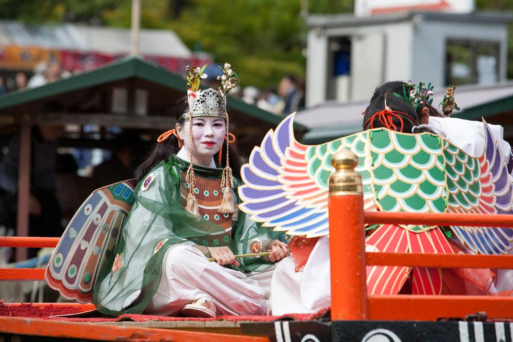 Het Mifune Matsuri festival in Kyoto, stedentrip, rondreis, Kyoto, Japan