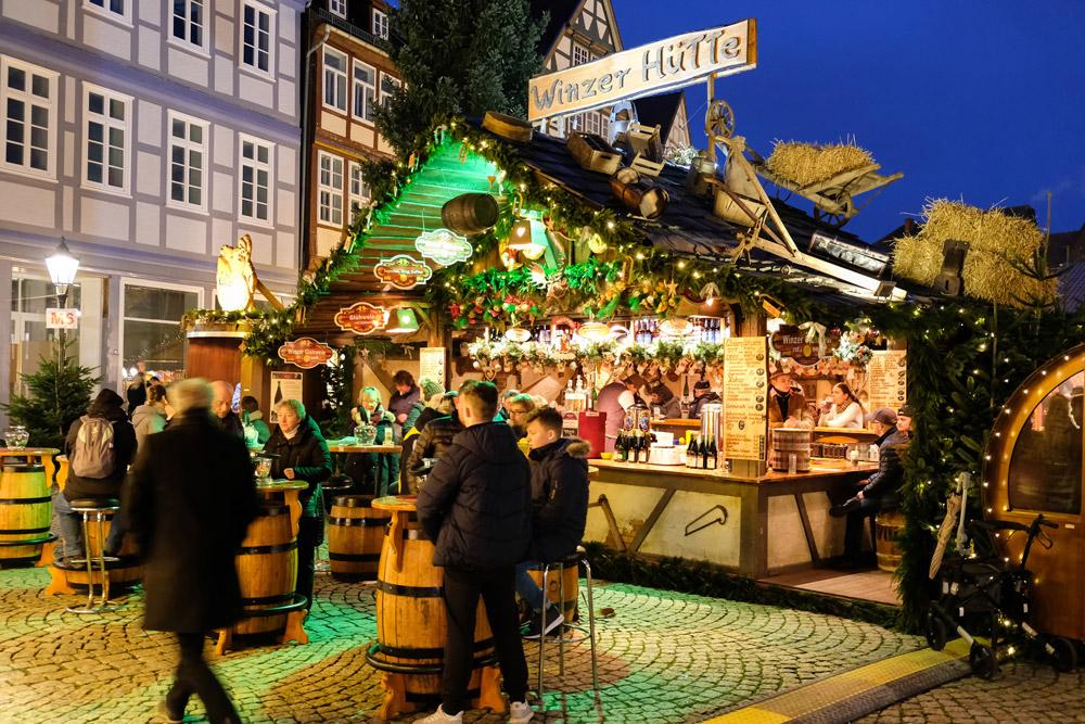 Hannover en andere kerstmarkten in Duitsland