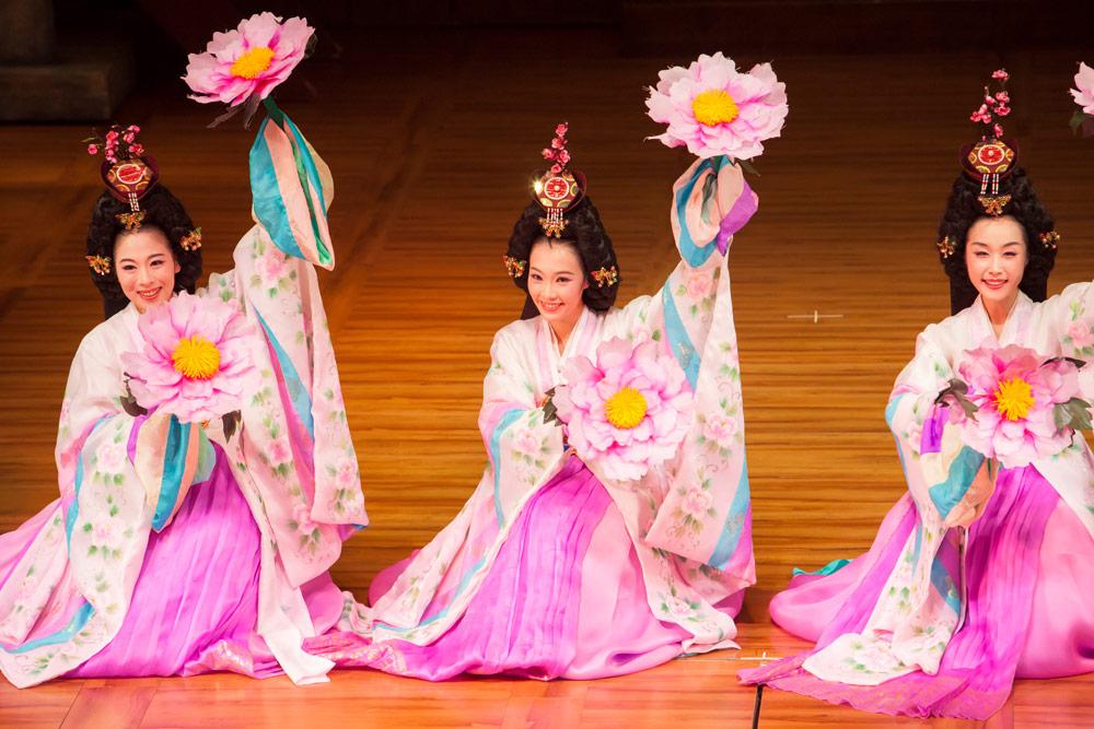 Mierzoete kleurtjes en muziek tijdens de Miso musical, Stedentrip Seoul, rondreis Zuid-Korea