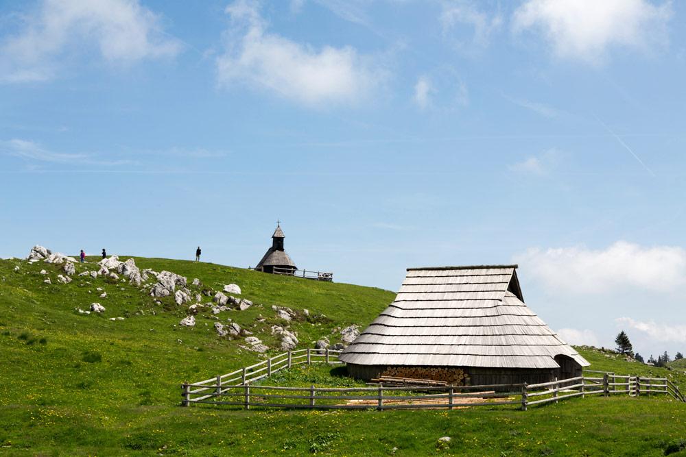 Slovenië, Velika planina: wandelen tussen tradities