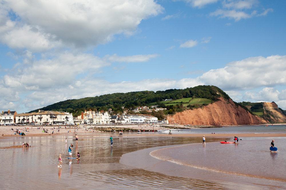 De kust van Cornwall blijft verrassen, zoals hier bij Sidmouth - Cornwall - vakantie rondreis in Zuid Engeland