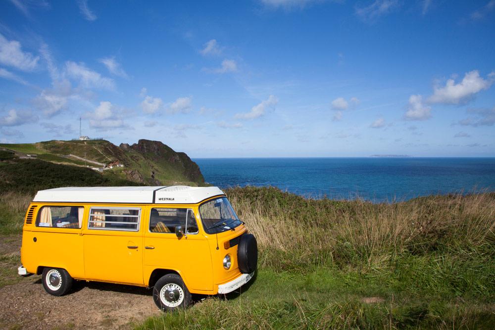Devon: met een vintage VW-busje langs de Engelse kust