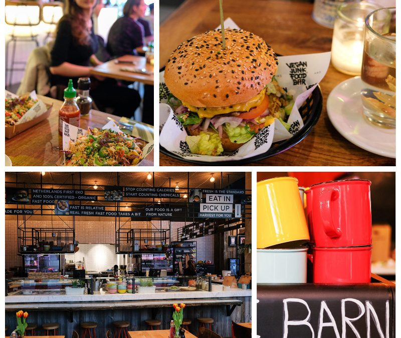 2 x vegetarisch en vegan fast food in Amsterdam