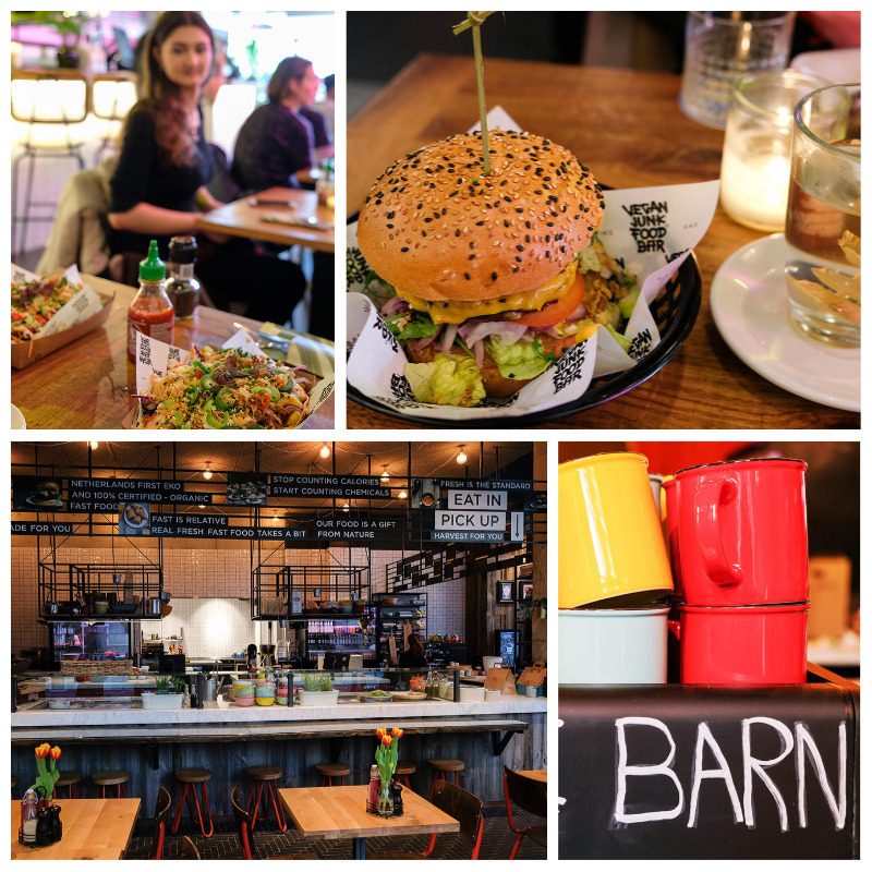 2 x vegetarisch en vegan fast food in Amsterdam