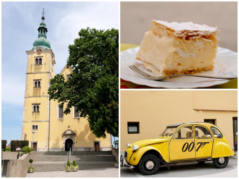 Vakantie Kroatie: rondstruinen en kremsnite eten in Samobor, rondreis Kroatie