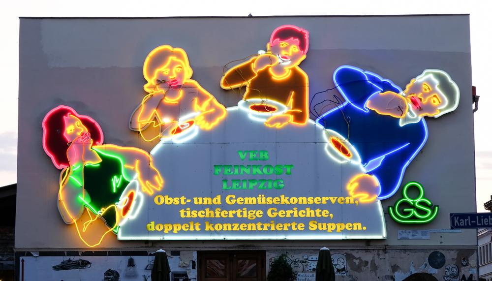 De Lepelfamilie in Leipzig, Duitsland, interrail, stedentrip