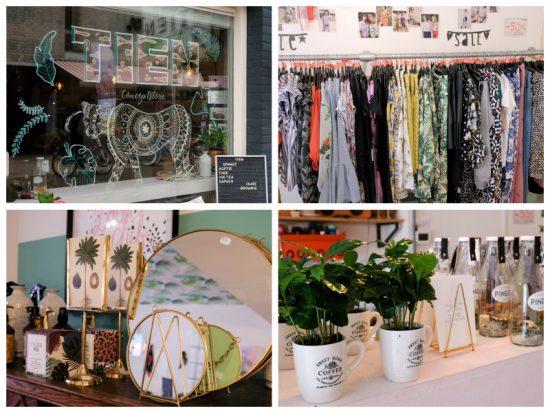 Koffie en kleding bij concept store TIEN in het Dwaalgebied, Tilburg. stedentrip Tilburg, hotspots restaurants en winkels, het Dwaalgebied