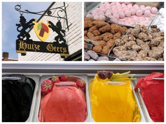 Onweerstaanbare chocolade en ijs bij Huize Geers bij de Piushaven. stedentrip Tilburg, hotspots restaurants en winkels, de Piushaven