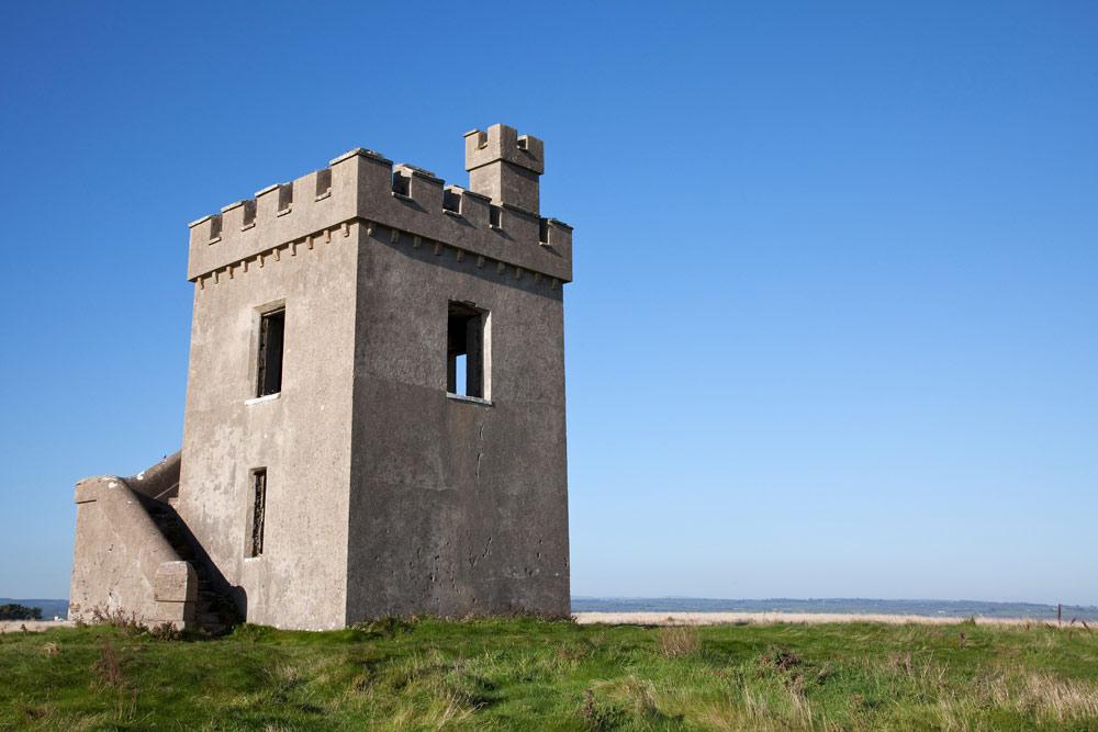 Rondreis Ierland - Vakantie met de auto door het zuiden van Ierland. Toren in Ardmore in het zuiden van Ierland