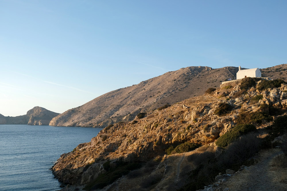 Agios Pakoy, een kapelletje op een heuvel bij Galissas Syros, Griekenland, Cycladen, eiland, rondreis, eilandhoppen, hoppen, island,