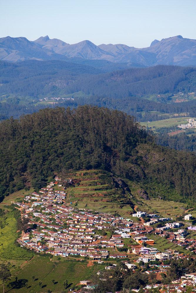 Ooty, een bergdorp in Tamil Nadu. rondreis Zuid-India, Kerala. Autorondreis