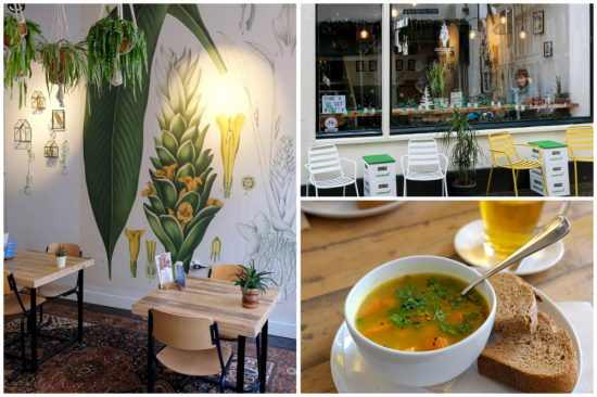Bij restaurant Curcuma is alles vegetarisch of vegan en biologisch. Stedentrip Gouda, vegan en vegetarische restaurants, hippe en trendy hotspots.