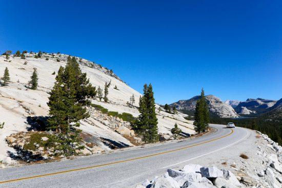 De grijze rotsen in Yosemite blijven fascineren