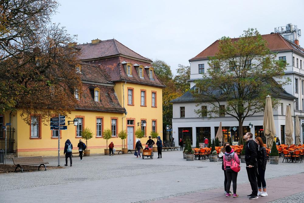 Het gemoedelijke Weimar waar het Bauhaus geboren werd. Rondreis Bauhaus. 100 jaar het Bauhaus in Duitsland