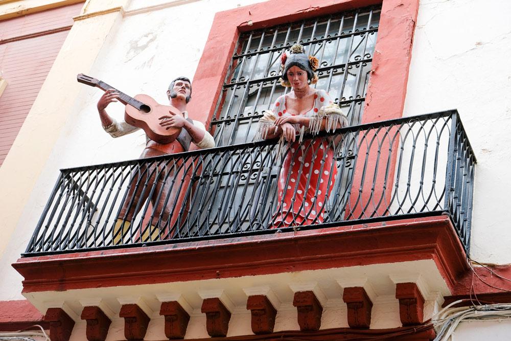 Bezoek een flamenco-voorstelling en het flamenco-museum in Sevilla . Budgettips Sevilla, Spanje, stedentrip, hotspots