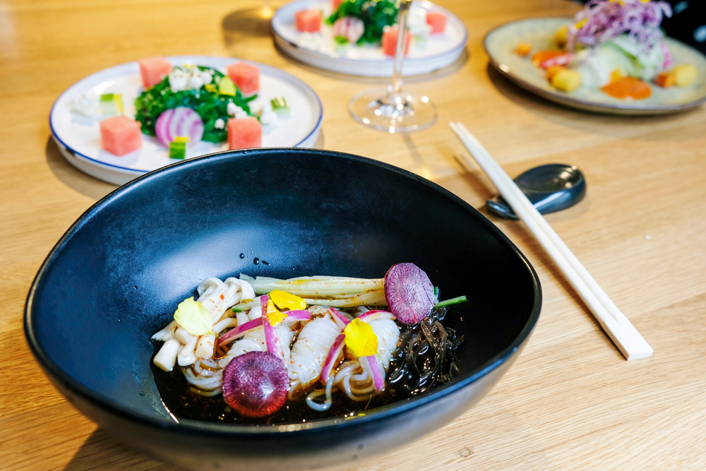 Restaurant UMAMI by Han, Chinees met een twist