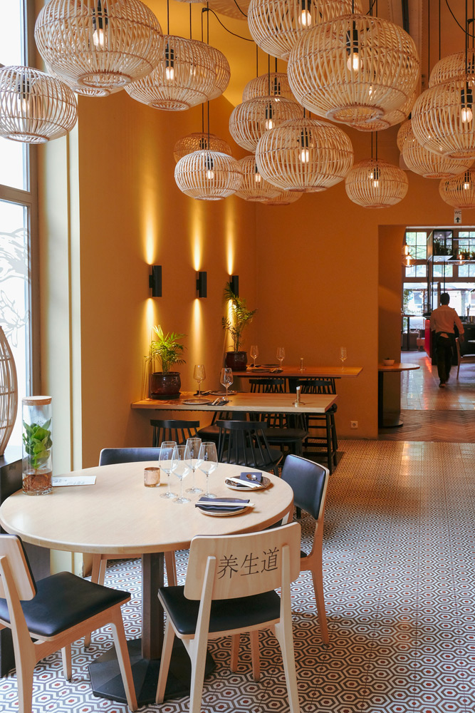 . Modern Chinees eten bij restaurant UMAMI is msterdam, food and drink pairing, yin en yang